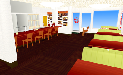 MMD Pure Carrot Cafe by amiamy111