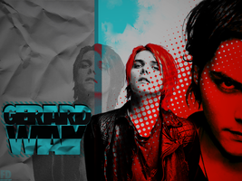 Gerard Way Wallpaper O3 by FeeDouce