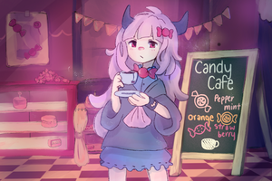 Candy Cafe by BlankKage