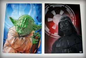 Choose your side ! by TheArtofBlouh