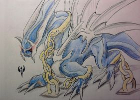 AT - Dialga chained for KunYKA by Arenthor