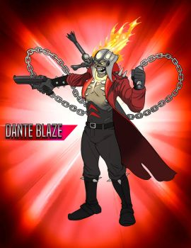 Dante Blaze Devil May Ride by SeanMcFarland