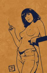 Arty Farty Pin-Up by BAproductions