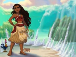Moana Dress Up Game by dolldivine