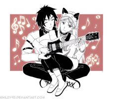 COMM: Playing guitar by knilzy95