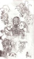 Dead Space CHIBI by SeanSumagaysay