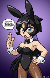Bunny Violet by rongs1234