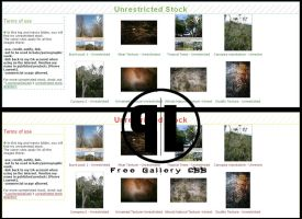 Simple Design Free Gallery CSS by Cat-in-the-Stock