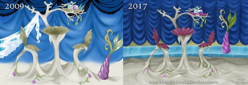 Despacho Andromeda 2009vs2017 by Efrayn
