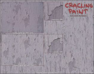 Crackling paint -tiled by JayL-stock