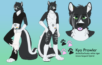 kyo prowler reference by blackmustang13