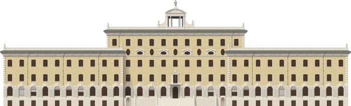 Palace of the Governorate of Vatican City State by Herbertrocha