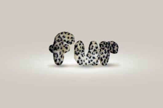 Fur text effect by kejsi