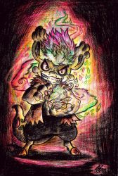 .: Bagbeans Giftart - Set the World on Fire!- :. by PrideAlchemist7