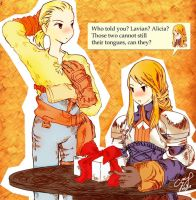 Agrias' birthday by insanetourist06