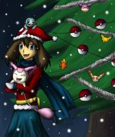 -Pokemon- Merry May Christmas by pdutogepi