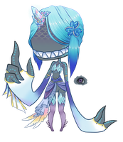 Leviathan Dentii Commission by CloverWing