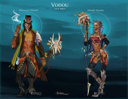 Commission: Voodoo Designs by Hassly