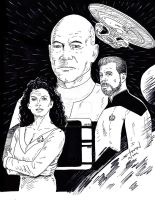 STTNG inked by StevenWilcox