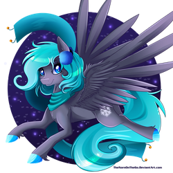 Giveaway Art: Pony OC by TheNornOnTheGo