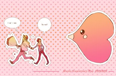 PKMN: Happy Valentine's day by xhiro