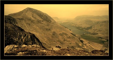 Over Buttermere by squareonion