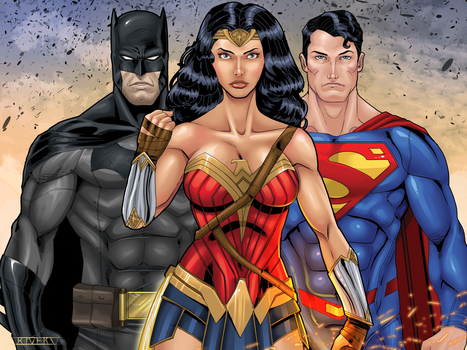 DC's Trinity by RIVOLUTION