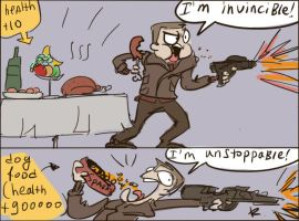Wolfenstein: The New Order, doodles 1 by Ayej