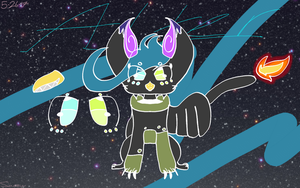 Alter the space griffen by Samm13456