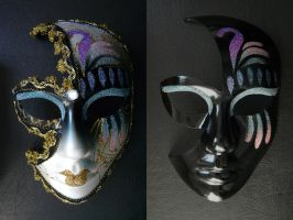 Black Mask - Before/After WIP by Eisfluegel