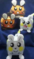 Pokecubes: Electric Rodents by beanchan