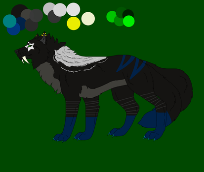 Tahita Wolves New color by Wolfsalterego