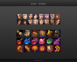 Game Icons - Character+Item by yshumin