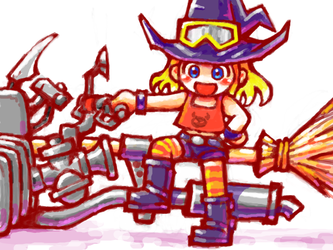 Broom Rider by oi-chan