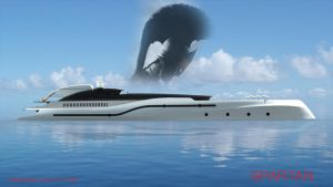 Super yacht Project Spartan by KingEagle