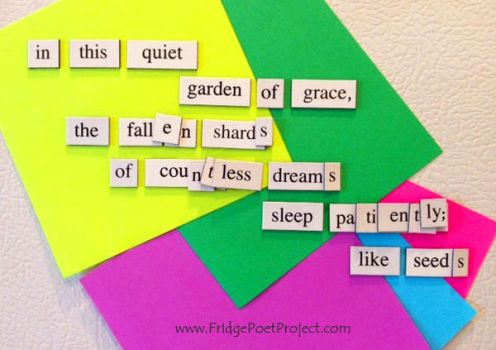 The Daily Magnet #104 by FridgePoetProject