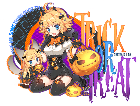 Trick or Treat! by Sheska16