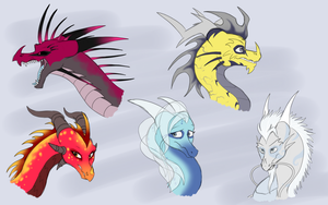 Guardian Sketches by IcelectricSpyro