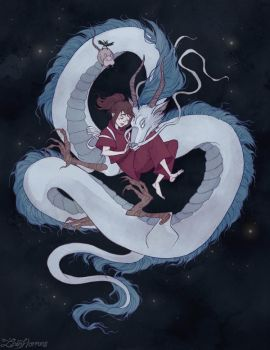Spirited Away by IrenHorrors