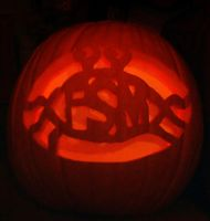 FSM jack-o-lantern by mew-at-heart