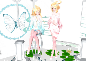 Tda Mirage Rin and Lenka : DL !! by Evelyn-sama