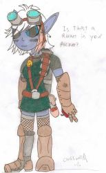 Tristana the Megling Gunner by mr-guy-man001