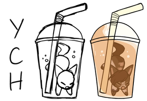 Drink V2 YCH - REOPEN by FerretCafe