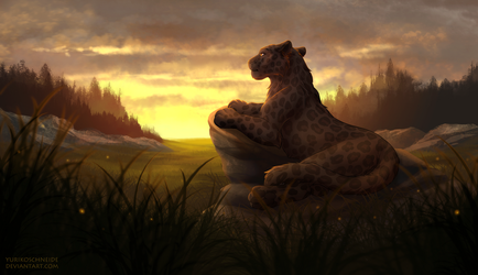 March YCH Commission by YurikoSchneide
