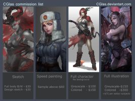 CGlas Commission Prices 08062015 by CGlas