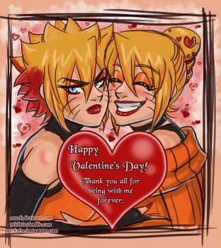Happy Valentine's day by Enock