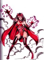 Scarlet Witch by hdub7