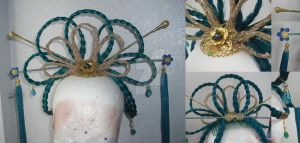 Empress of the Sea WIP 3 - the Hair Decoration by NettyCosplay