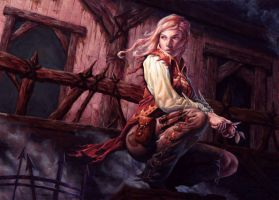 Reckless Waif by Michael-C-Hayes