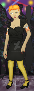 Gift: Arin in a LBD by hippo2